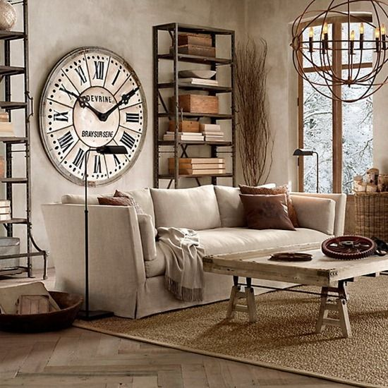 Typical Retro room interio design