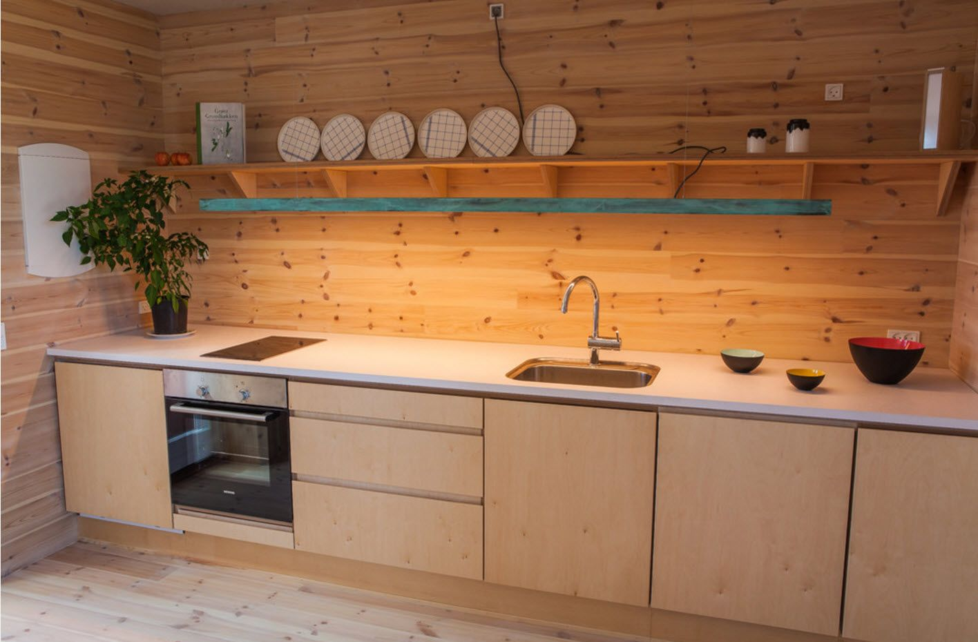 Modern country style interpretation for countryside cottage kitchen