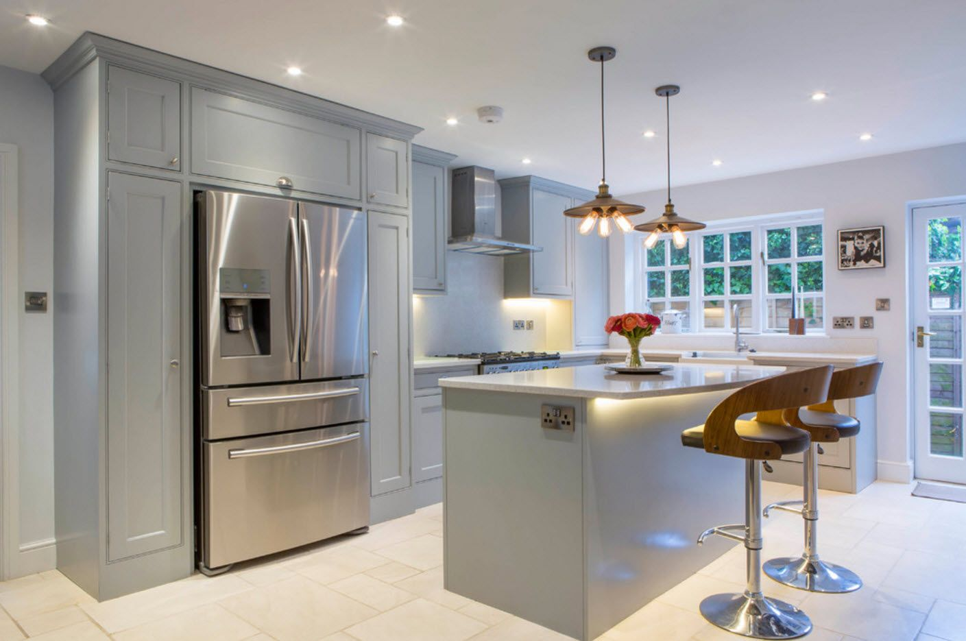 Steel appliances for hi-tech kitchen are indispensable