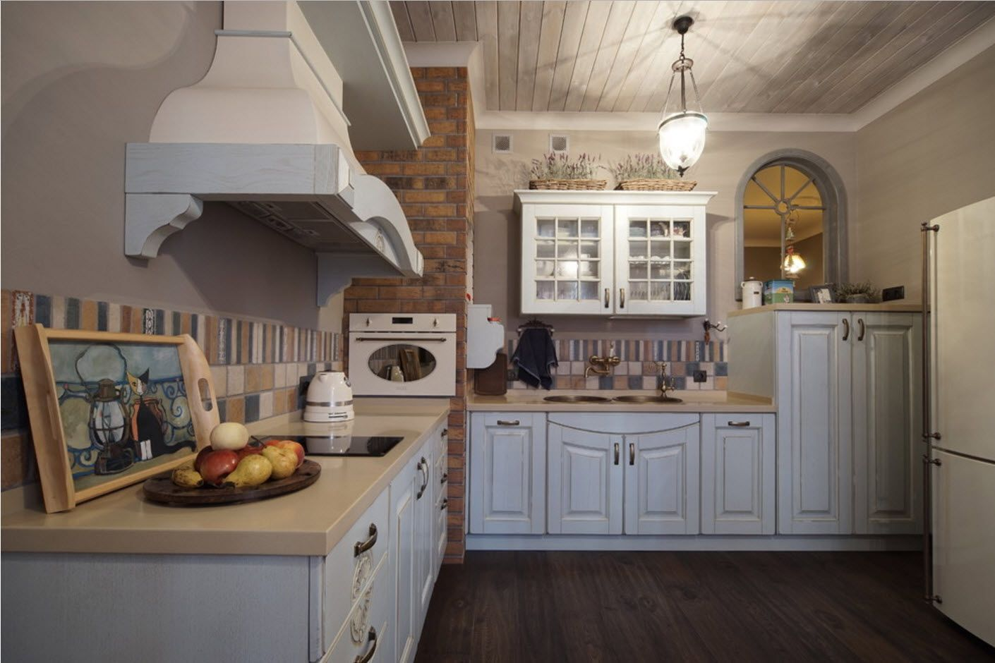 Typical Provence style at the cottage kitchen