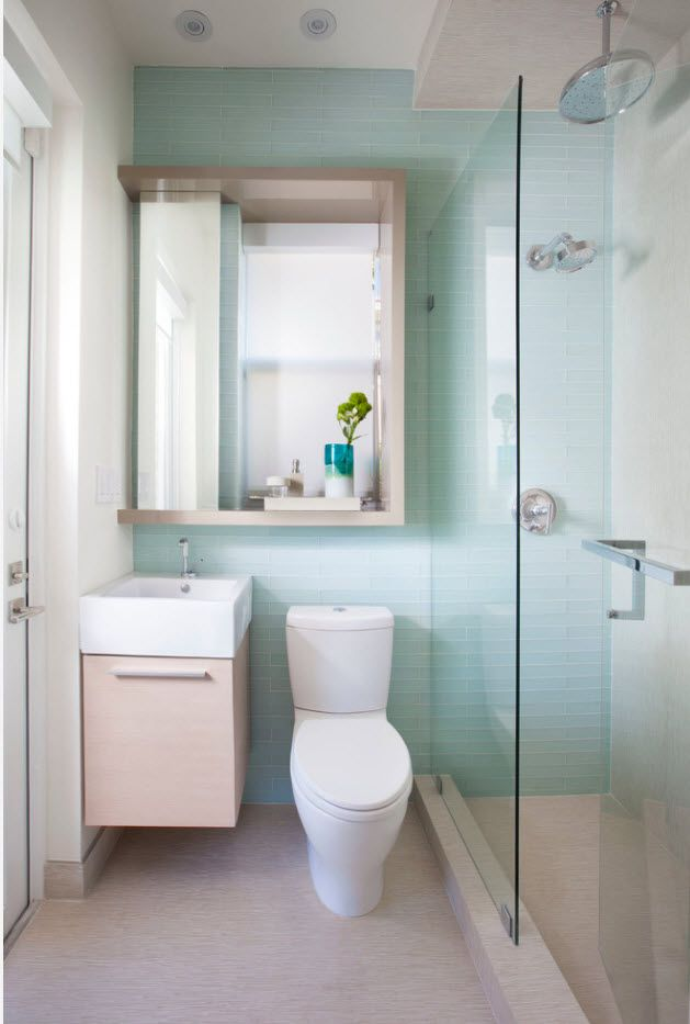 Nice idea with accent turquoise wall