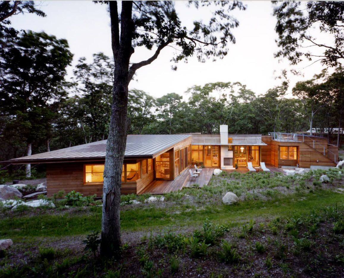 100+ Private House Roofs Beautiful Design Ideas. Typicla non-terrace monopitched flat roof for the angular cottage