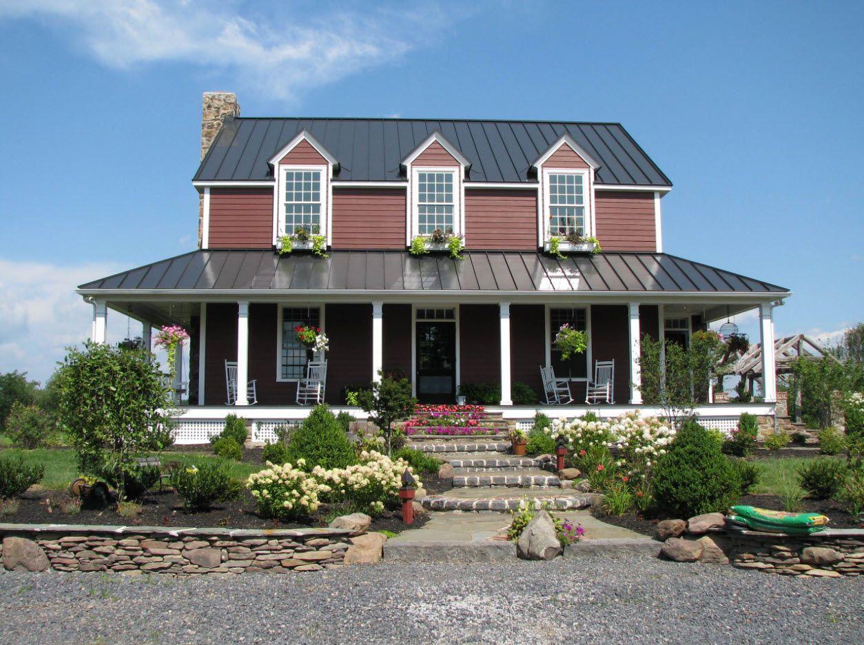 Classic house facade