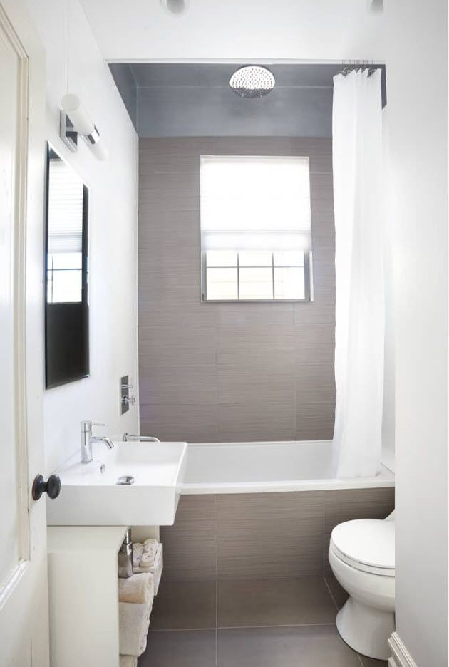 Gray accent wall with the window