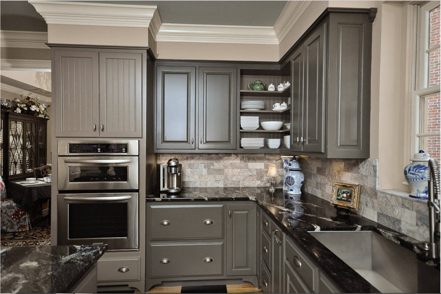 The angular design of the kitchen: the pros and cons 56