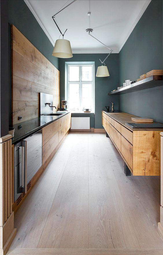 Charming 100+ Best Original Kitchen Design Ideas With Photos. The Alloy Of Natural  Wooden Facade