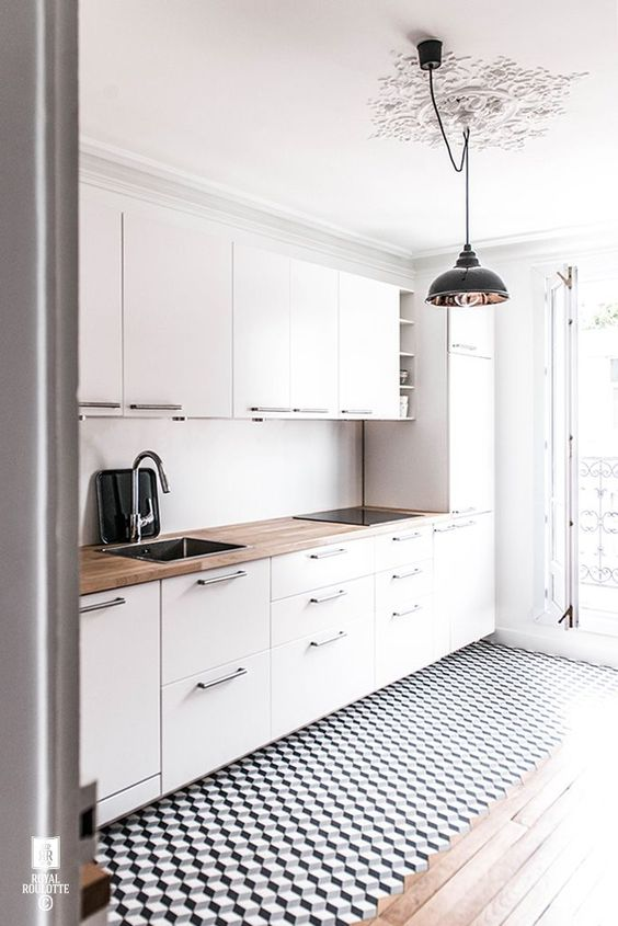 100+ Best Original Kitchen Design Ideas with Photos. Light gray contemporary style in the large light space
