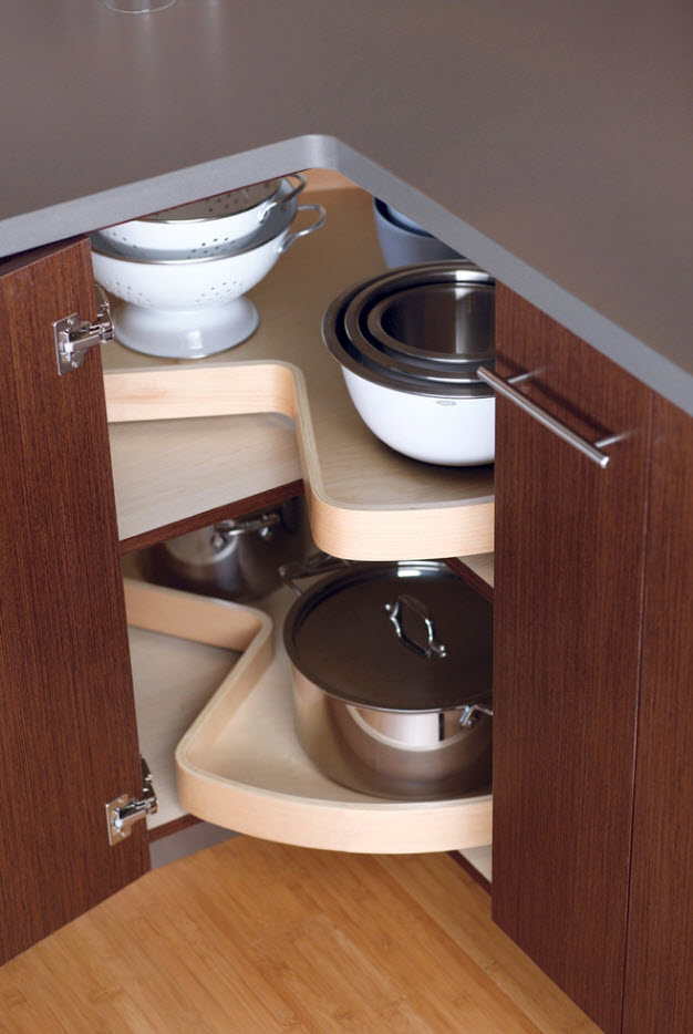 Unversal complex formed shelves for storage