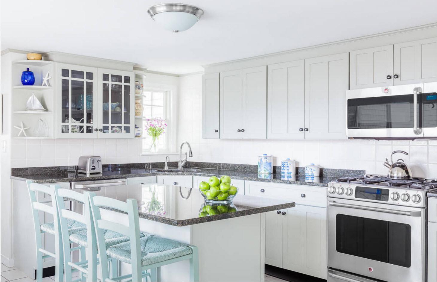 Angular Kitchen Layout Design Ideas 2017 Small Design Ideas