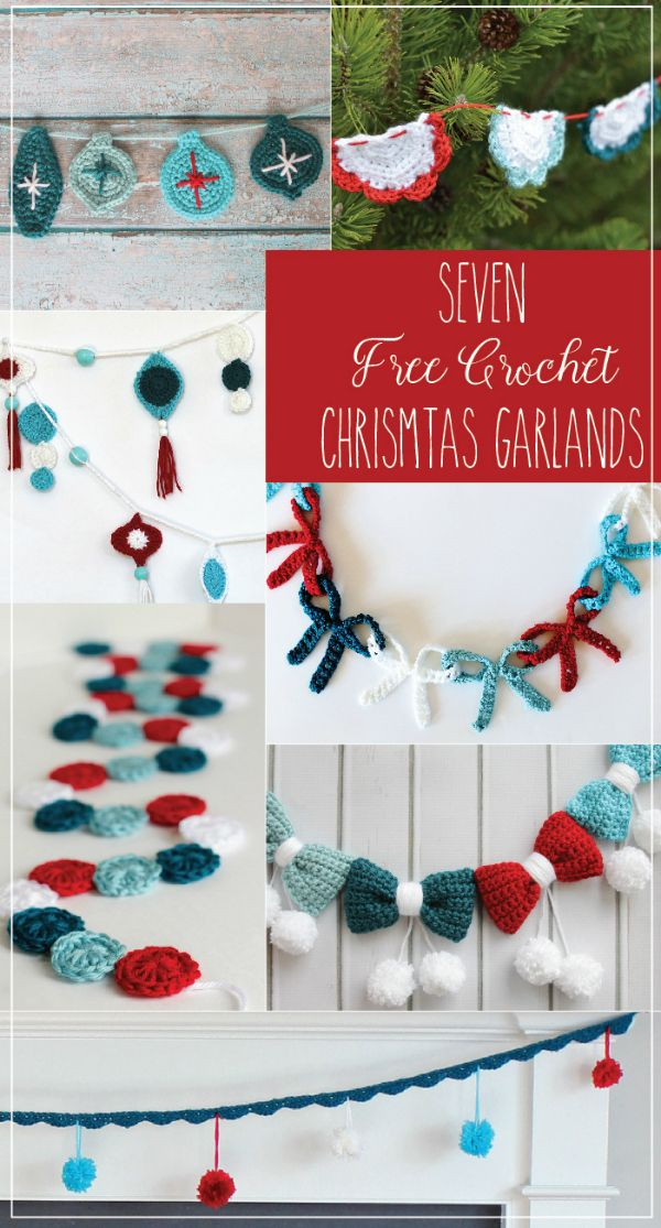 Cloth and thread garlands
