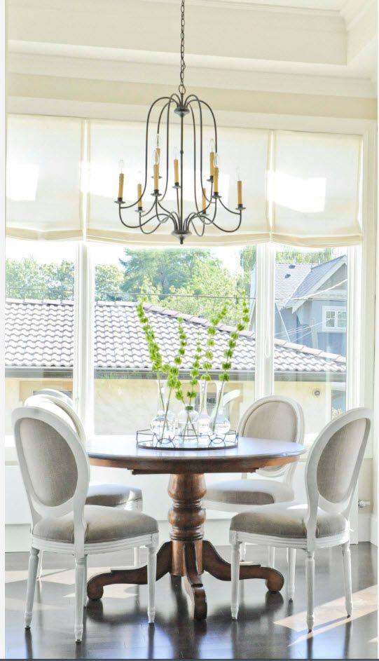 Milk white color palette for the bright modern interior