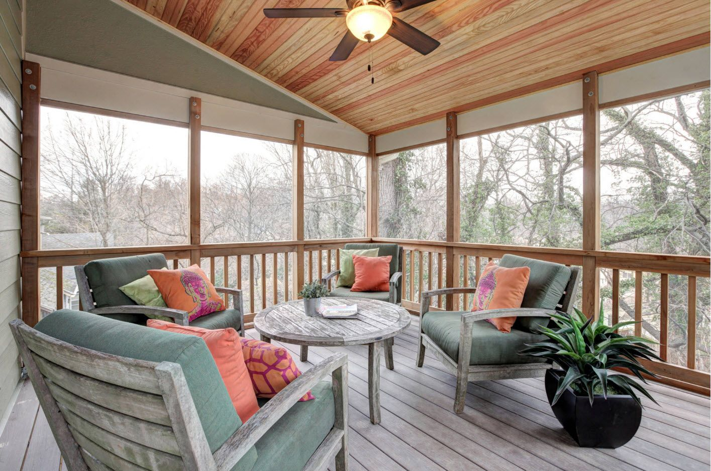 Country House Porch Decoration & Design Ideas. Modern styled patio