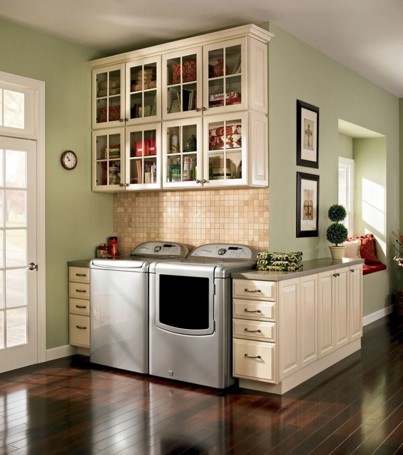 Top Loader Laundry Room Ideas Cabinets