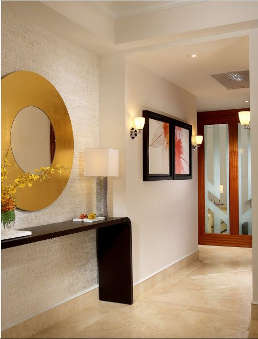 The Use of Decorative Stone for Modern Interiors' Finishing.  typical Casual style