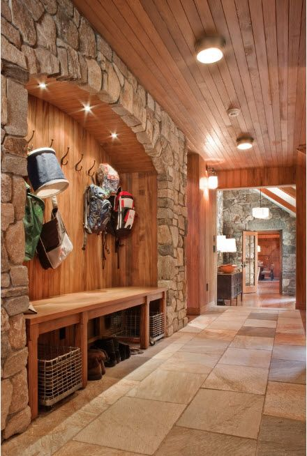 The Use of Decorative Stone for Modern Interiors' Finishing. Hall arch for dressing