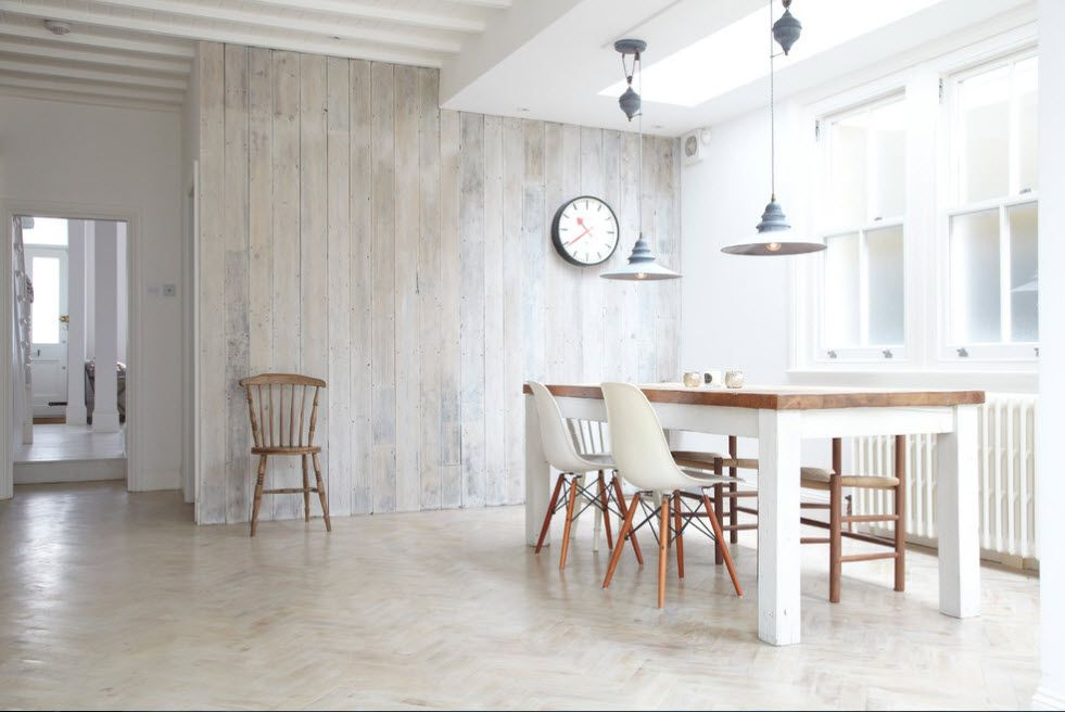 Scandinavic minimalism in the modern kitchen in light colors