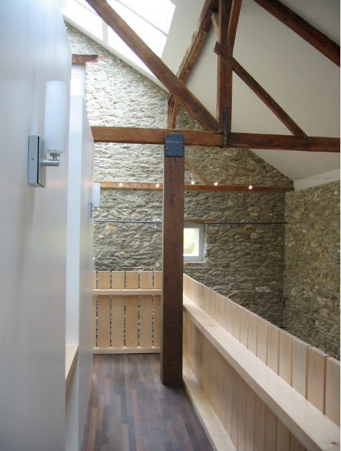The Use of Decorative Stone for Modern Interiors' Finishing.  Unique architecture under the roof