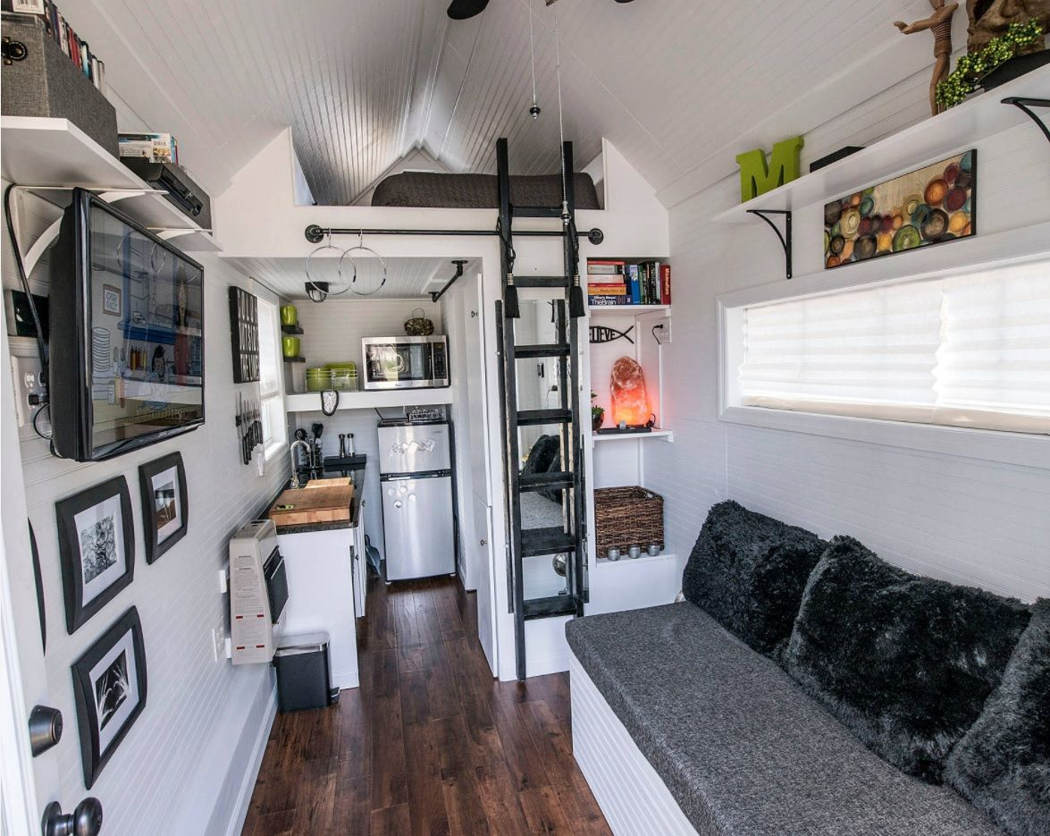 Modern Designs for Tiny Homes. Functionality first for small space