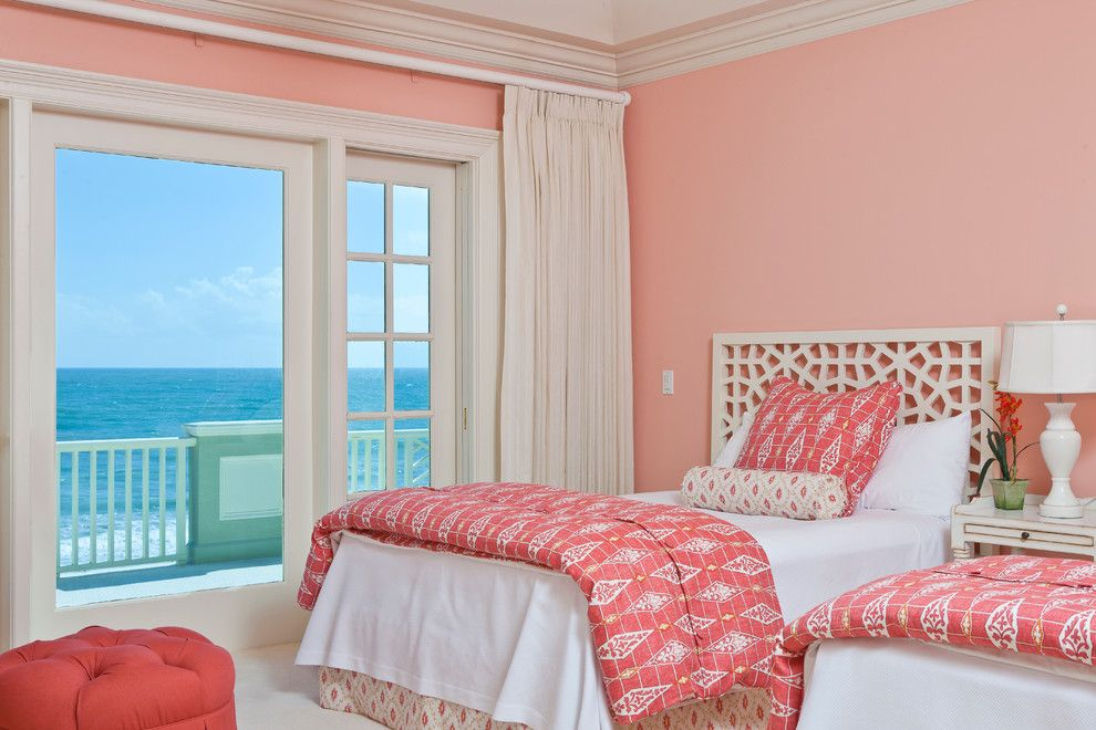 Pink Color for Modern Romantic Interior Designs. Pale pink for relaxing and calming Classic interior of the bedroom