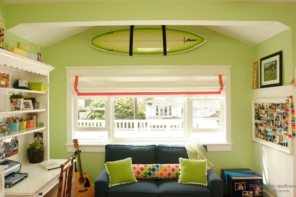 Green Color Interior Decoration Ideas. Bit of Nature at Home. Absolutely green light modern styled living looks organic