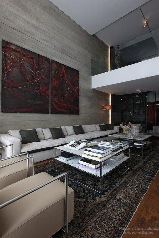 Using Dark Colors in Modern Interiors. Photo Ideas. Contrasting tones in the studio apartment