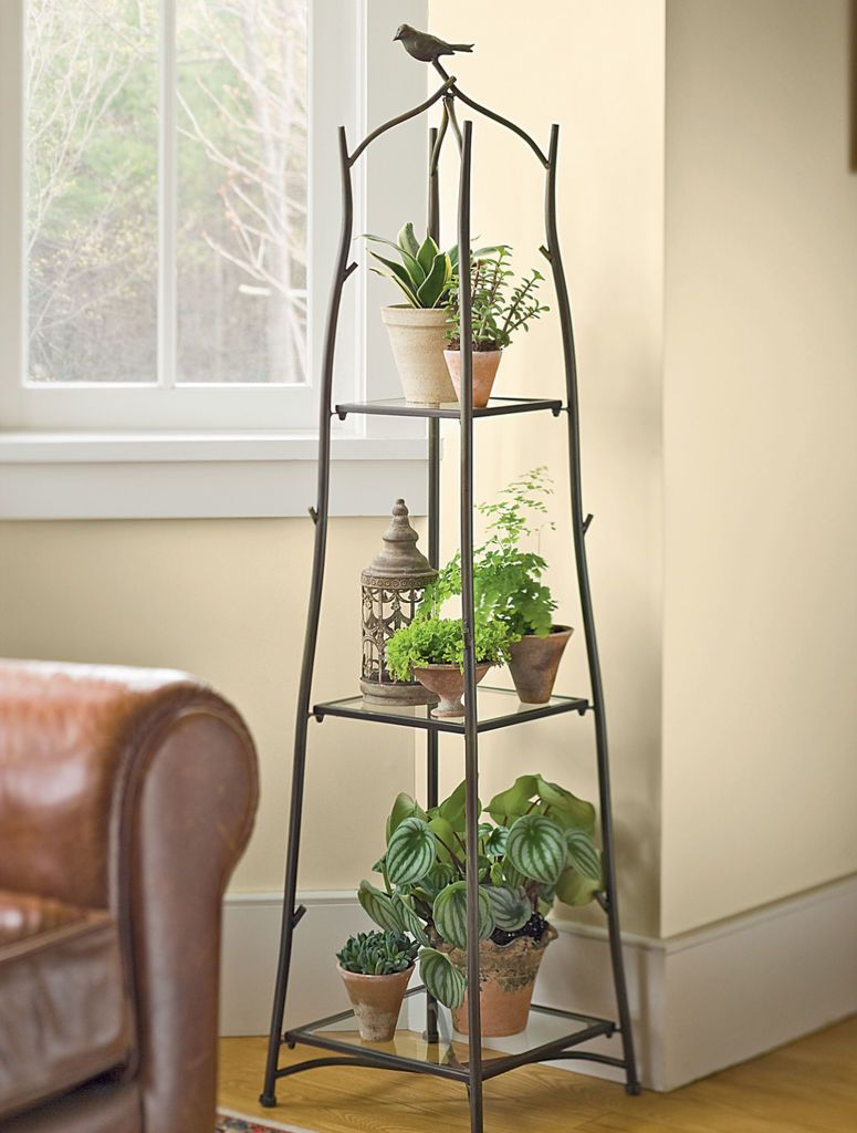 Indoor usage of the flower stand