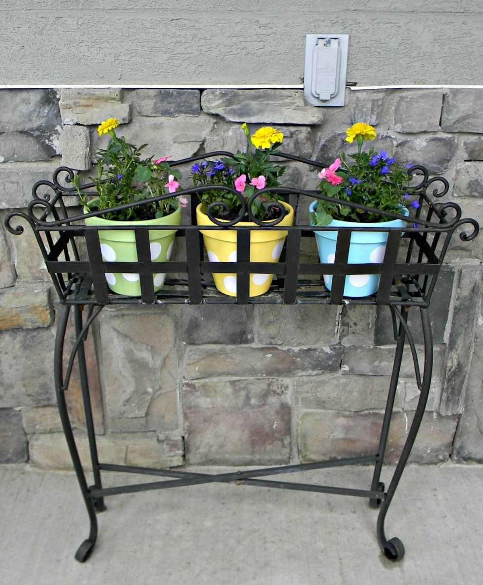 Outdoor exquisite flower stand