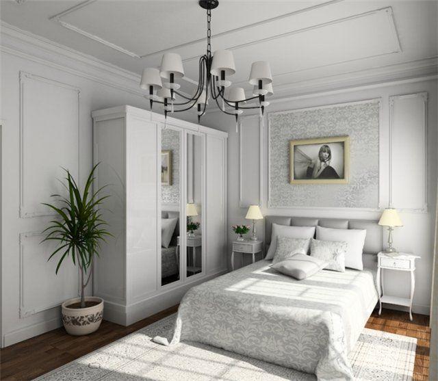 DIY Bedroom Repair: Step-by-Step Instruction. Painted interior
