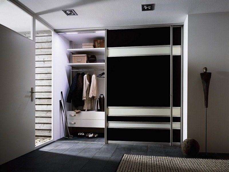 Striking black design for the home wardrobe