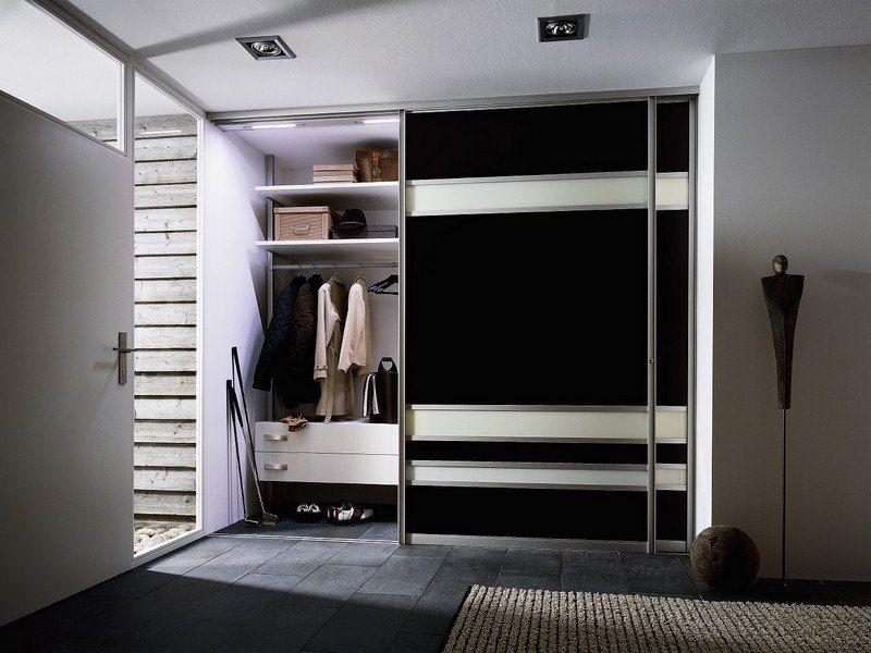 Striking black design for the home wardrobe