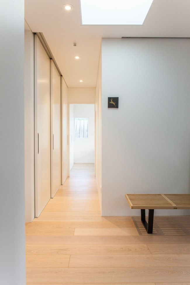 Modern Closet Types & Variants for Hallway Interior with Photos. Artificial lighting for the hi-tech interior