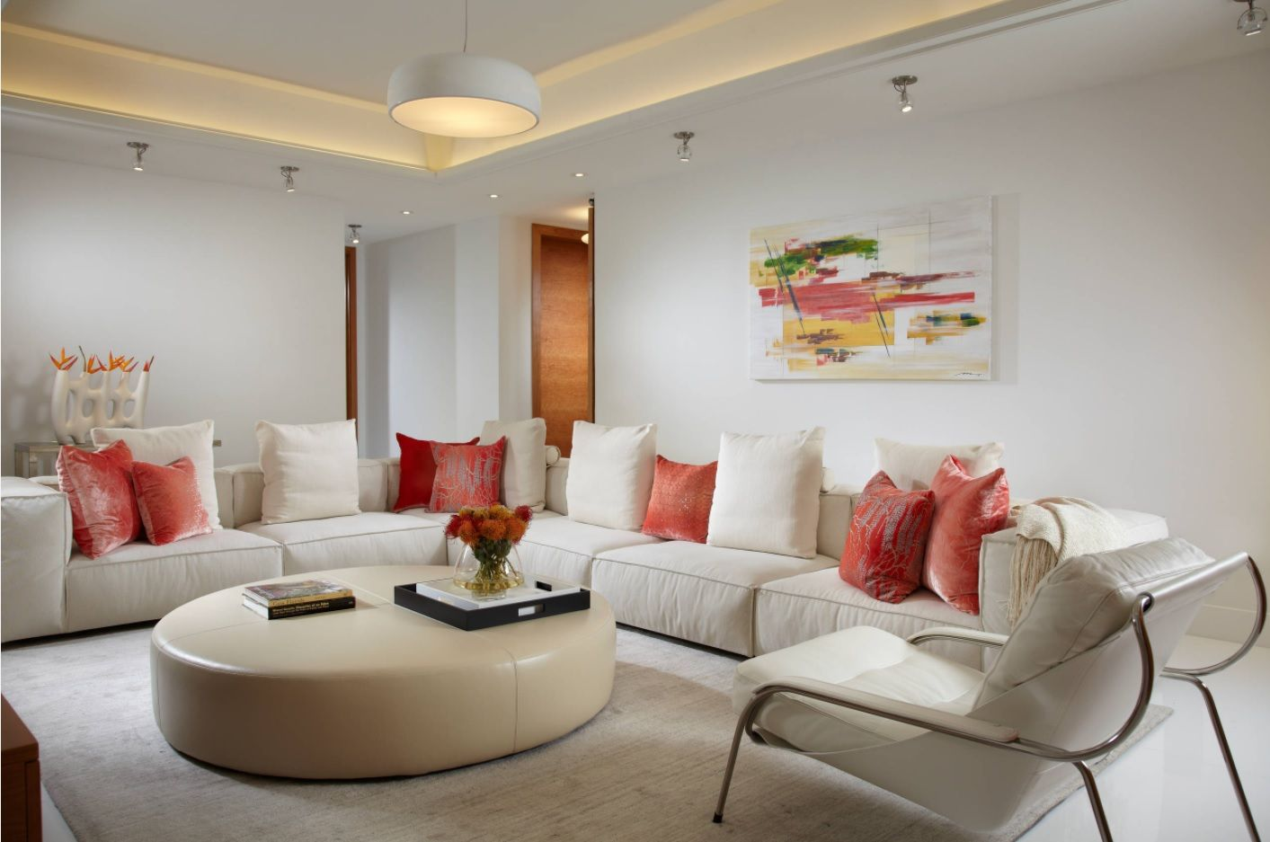 Zen Interior Design Concept for Your Home. Round forms in the overall stylistic