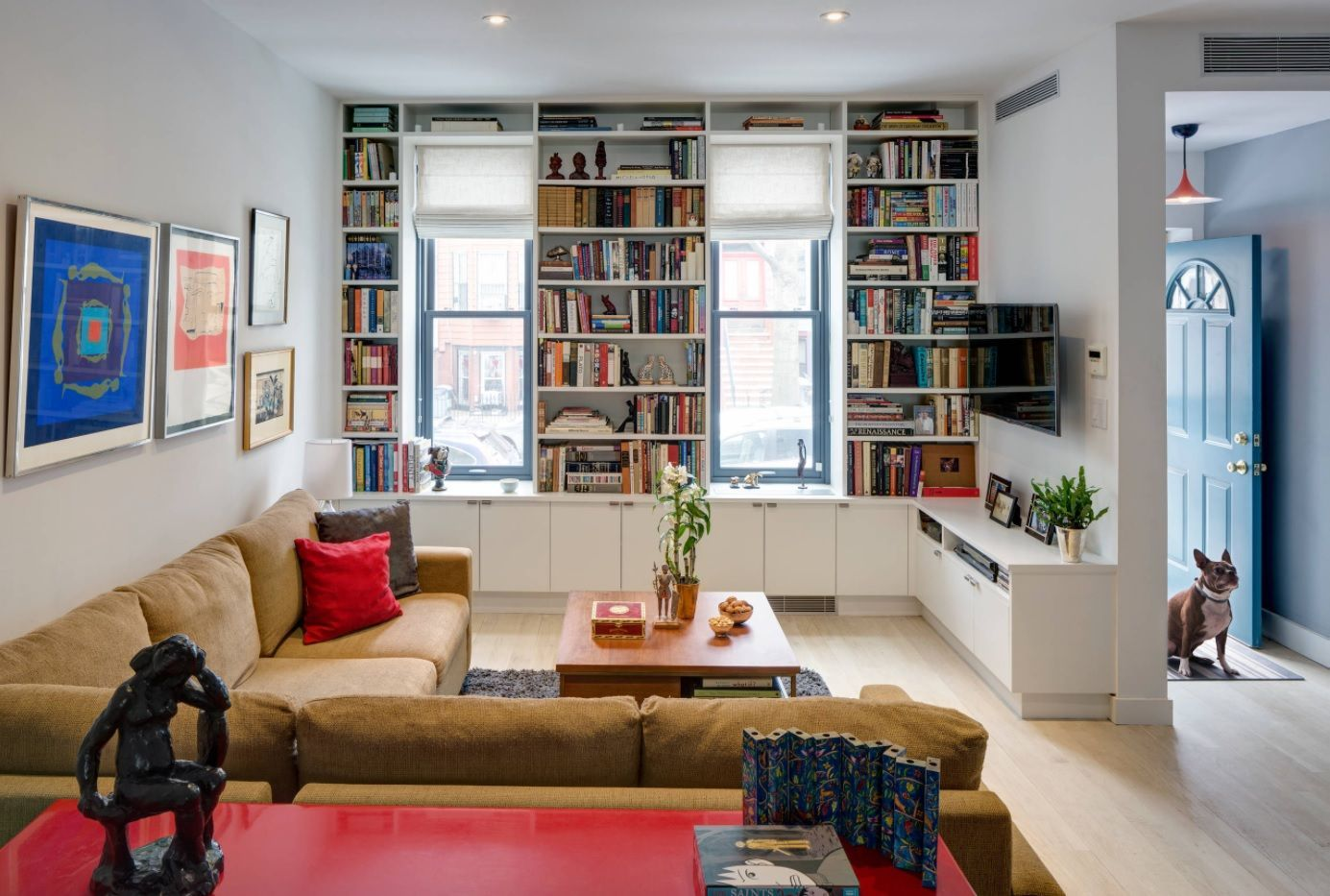 Library living room atmosphere