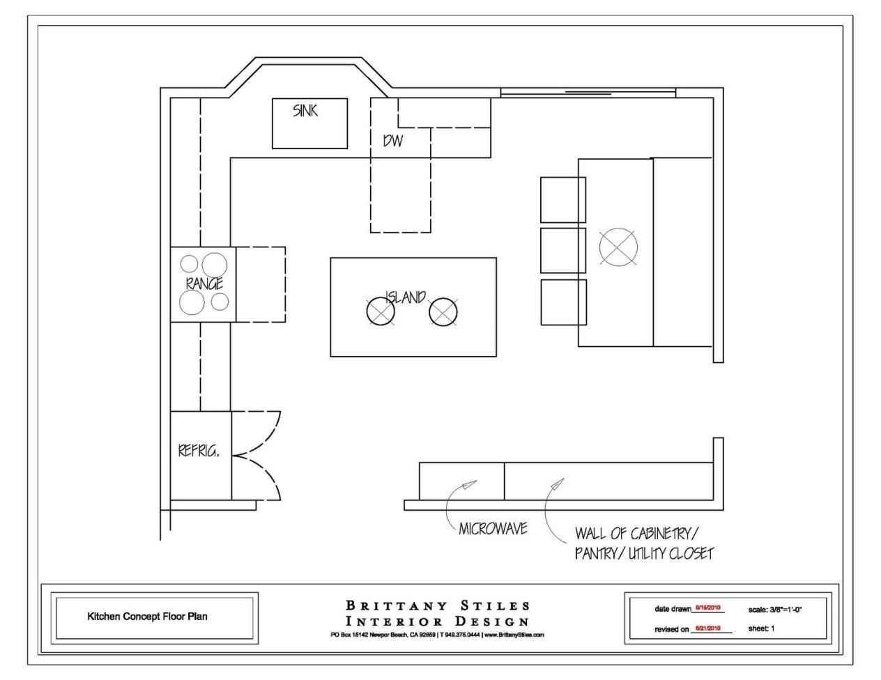 Detailed all type kitchen floor plans review small for U shaped kitchen with island floor plan