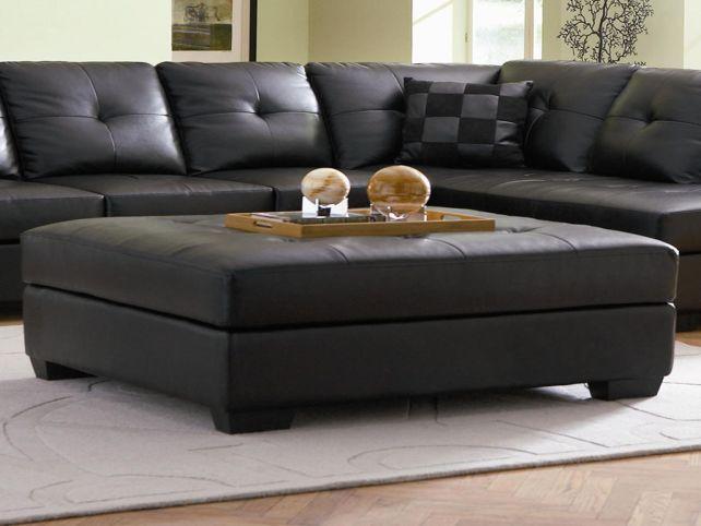 Stylish Black Leather