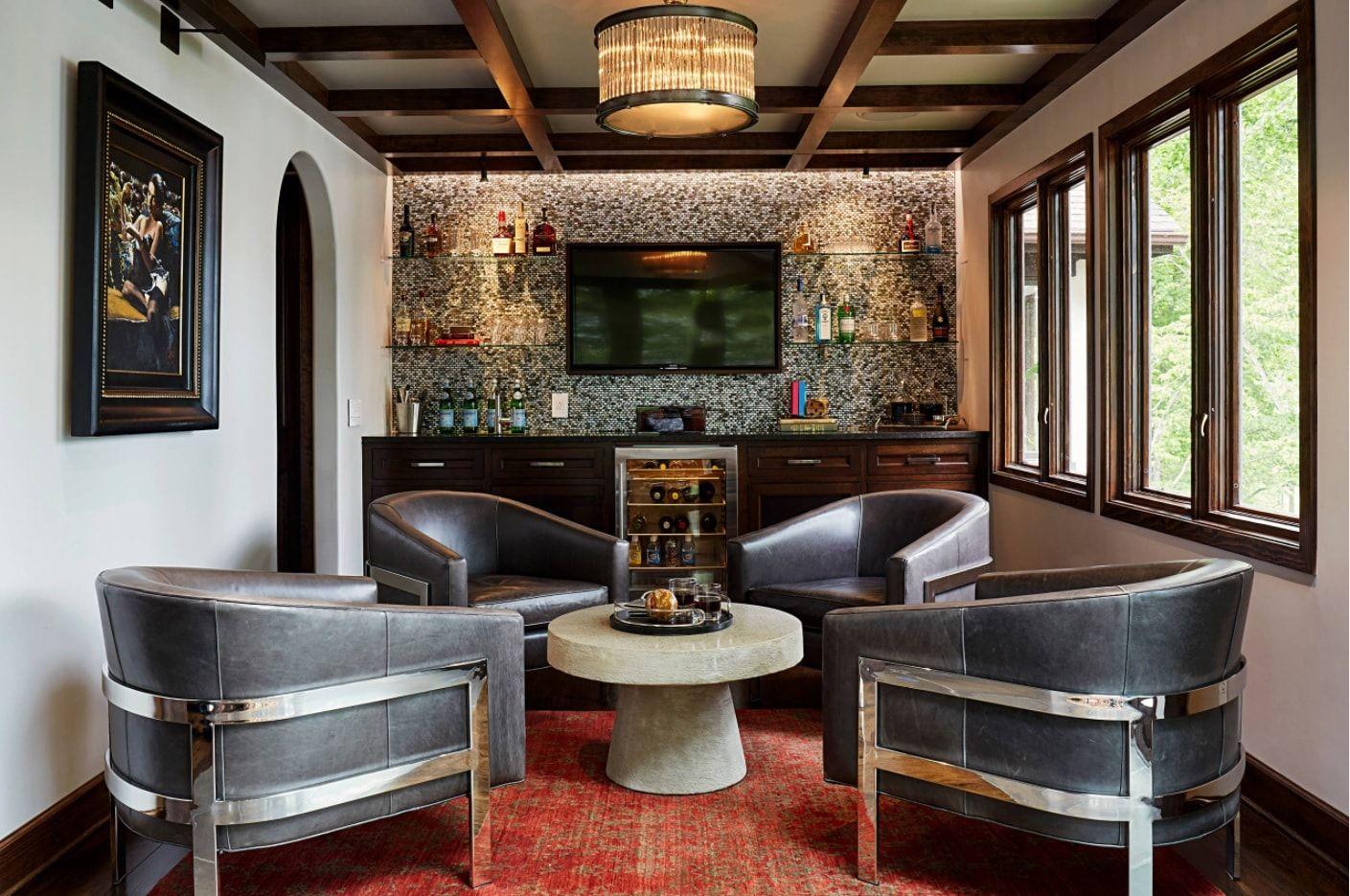 Modern Steampunk House Interior Photo Examples Small Design Ideas