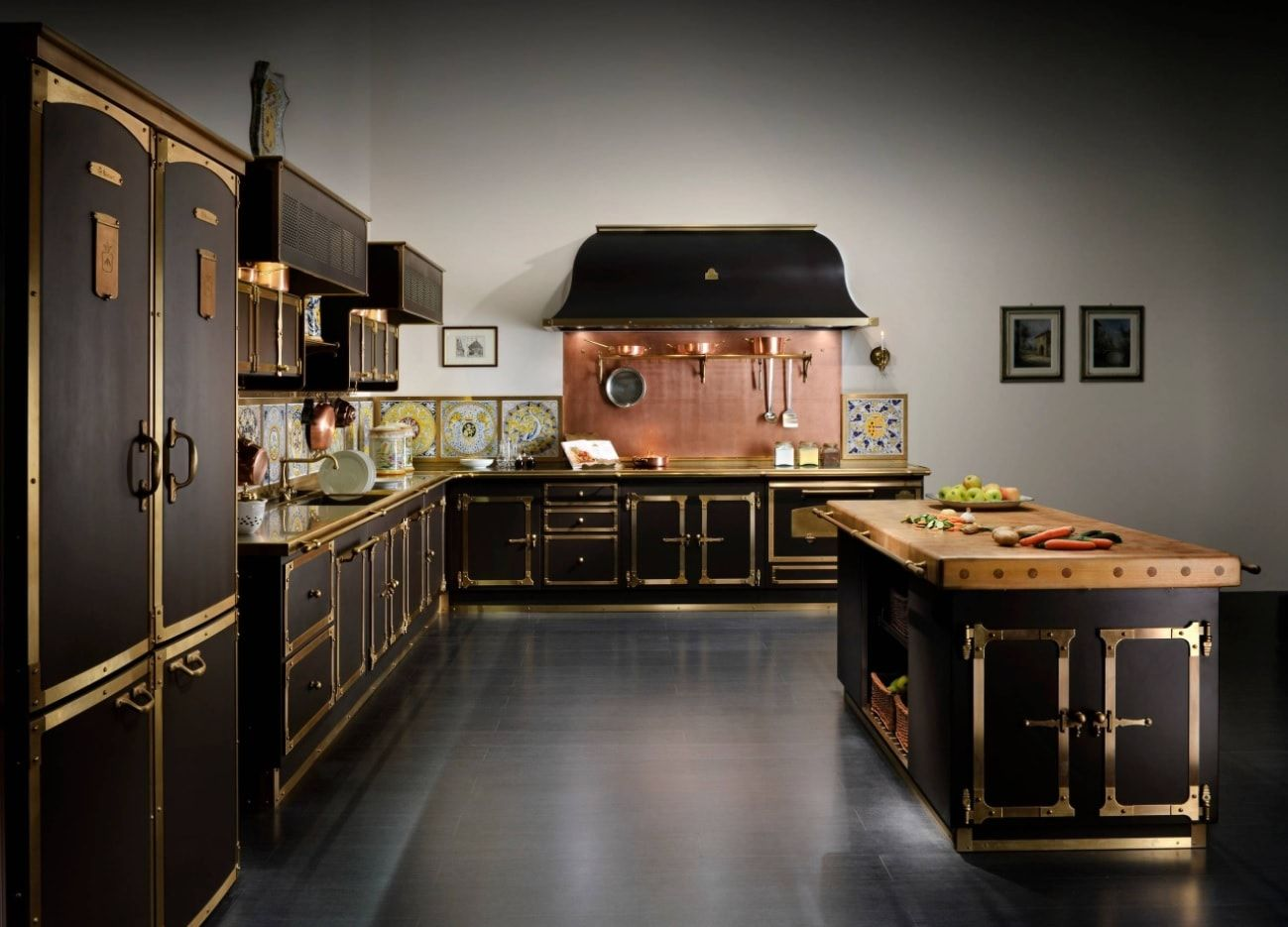 Modern Steampunk House Interior Photo Examples Small