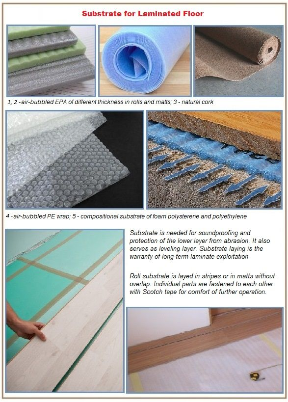 Types of insulation substrates