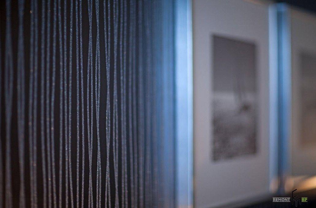 Textured beaded wallpaper
