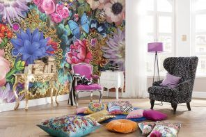 Floristic fantasy at the living room