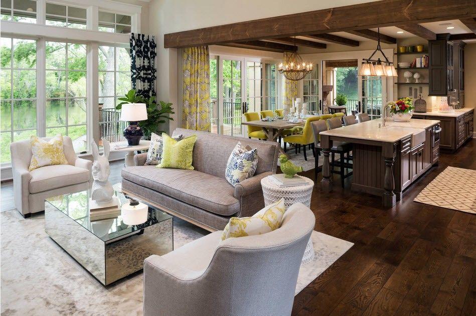 American Interior Design Style Colorful Classic In Modern Interpretation
