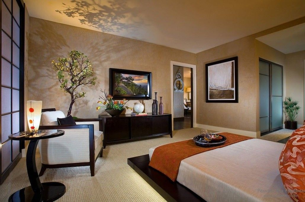 Japanese Bedroom Decoration And Arrangement Small Design Ideas