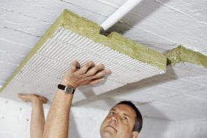 Warming and heating insulation of the basement