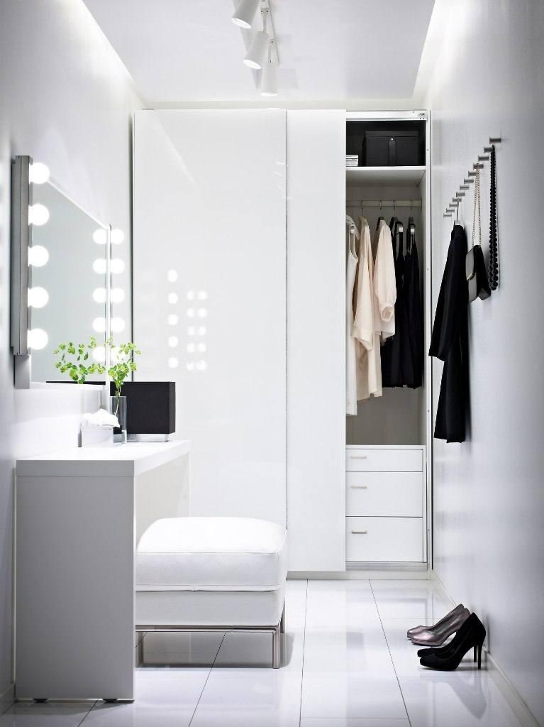White ultramodern minimalistic bathroom