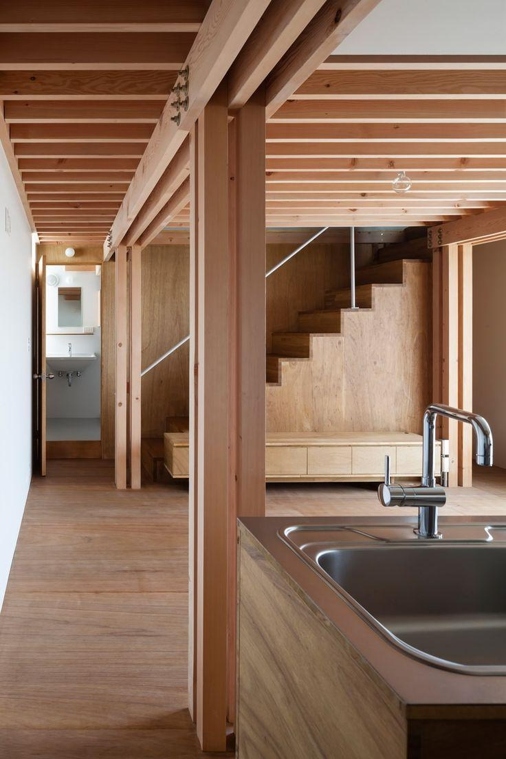 Wooden idyll for the modern cottage of two levels