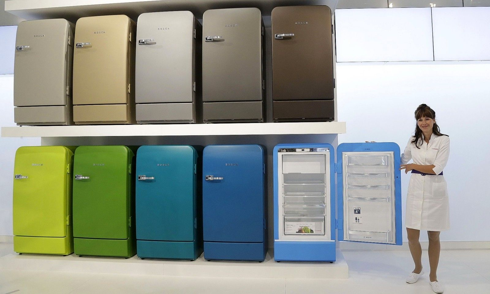 Bosch refrigerators in wide color range