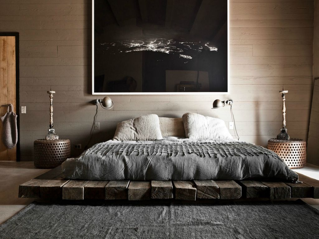 Floor Couch Unique Asian Style Photo Collection. Fancy Scandinavian style in the dark-colored bedroom with large picture