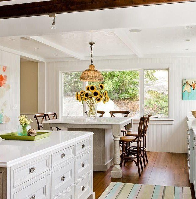 American Classic in the light decorated kitchen