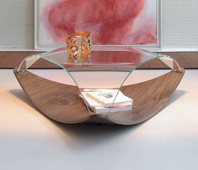 Crystal imitating wooden and glass product