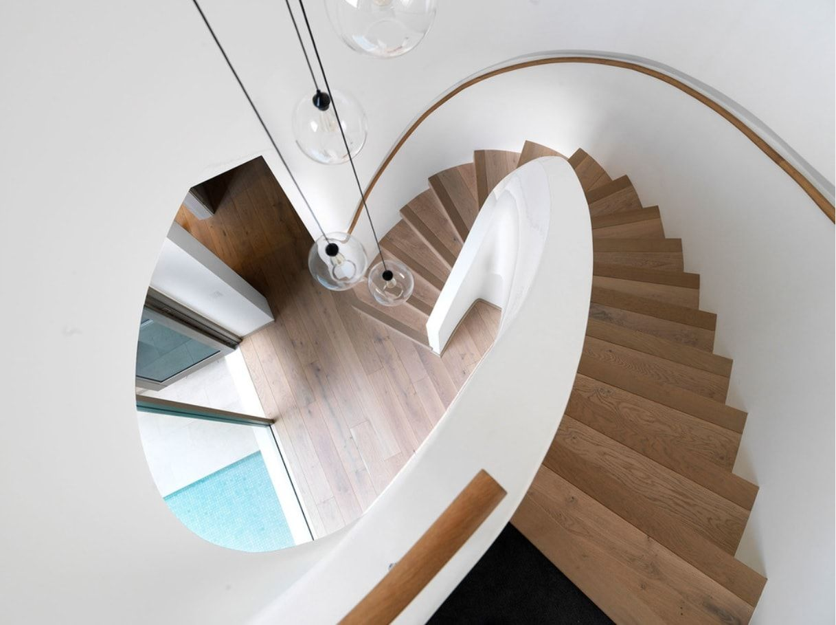 Modern Classics Ladder by Luigi Rosselli Architects
